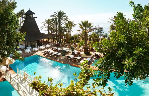 Marbella Club Hotel The swimming pool