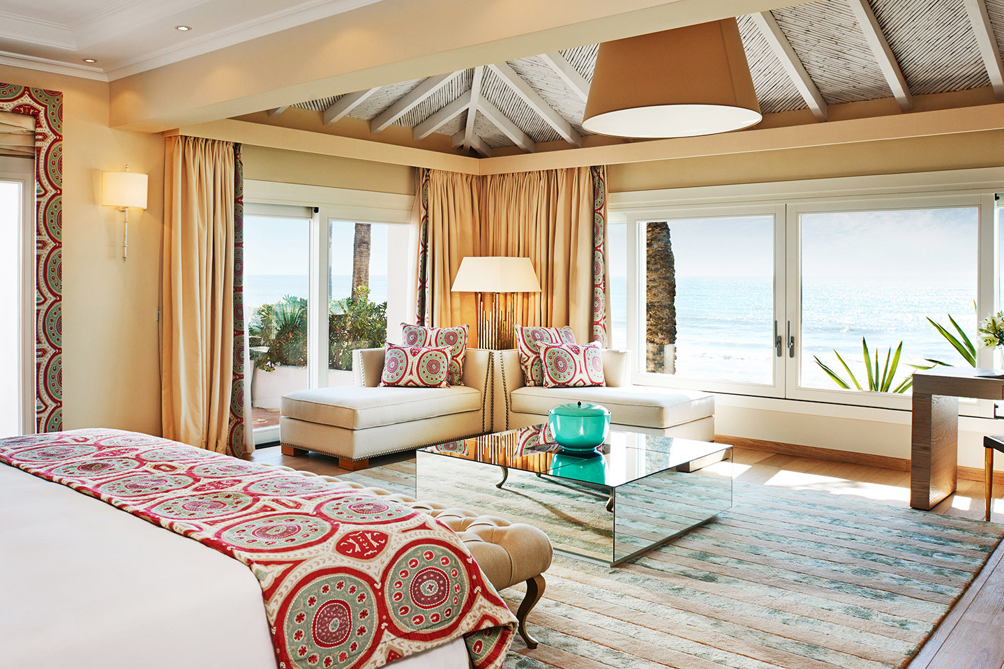 Marbella Club Hotel Room with a sea view