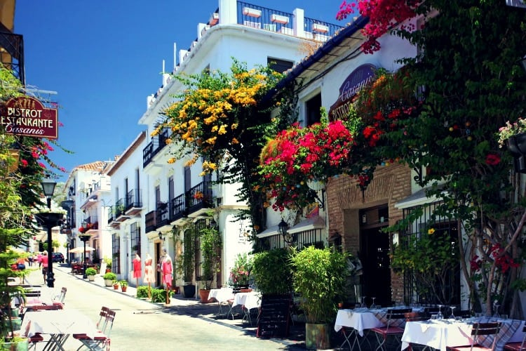 Marbella Club Hotel Surrounding area