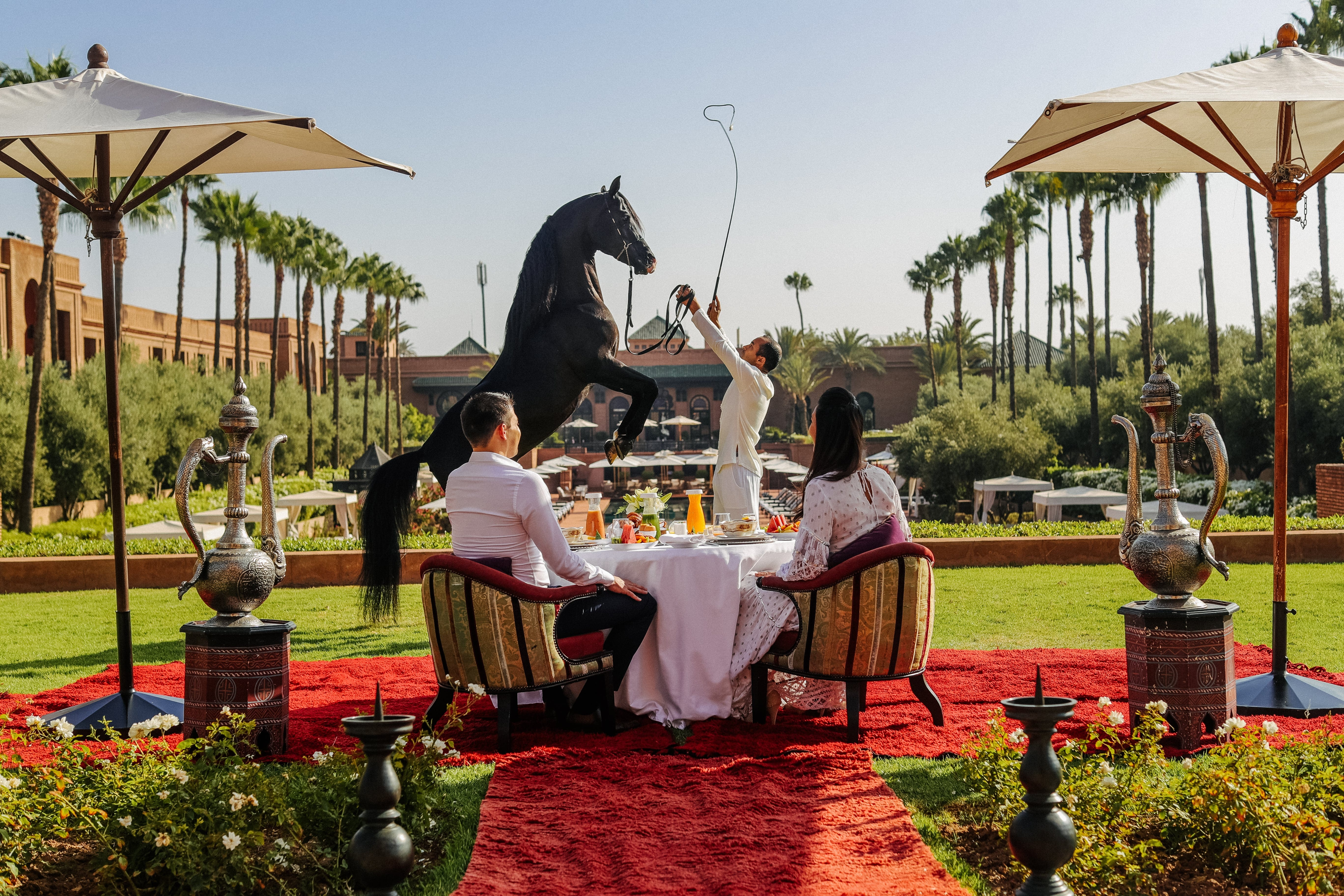 Signature breakfast Selman Marrakech