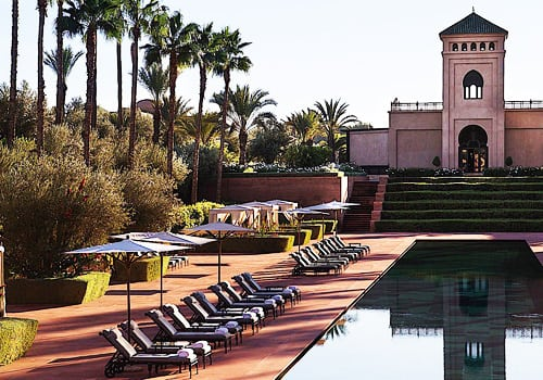 Hotel Selman Marrakech pool