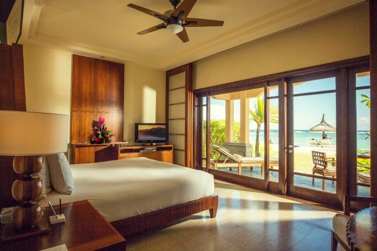 Shanti Mauritius Bedroom with private terrace