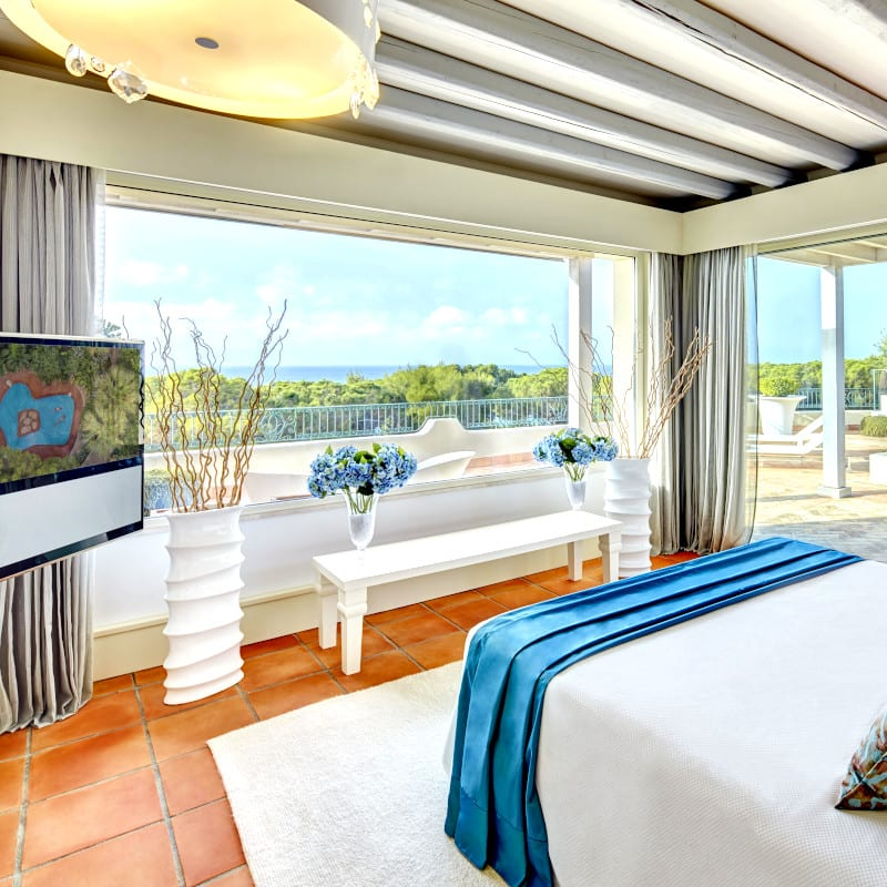A bedroom in Forte Village Resort ***** in Sardinia