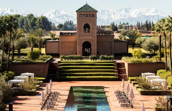 Selman Marrakesh-view of the atlas mountains