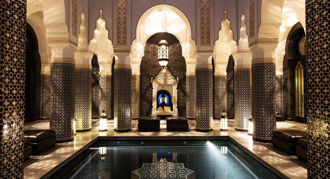 Selman Marrakesh-indoor pool