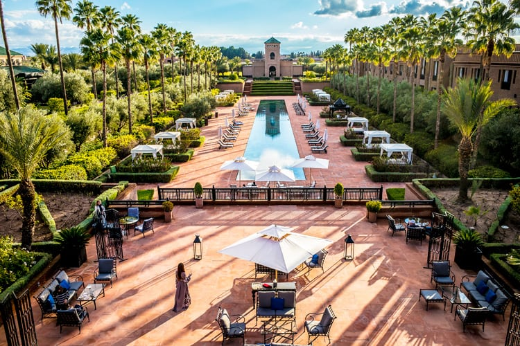 Hotel Selman Marrakech Overview of the hotel