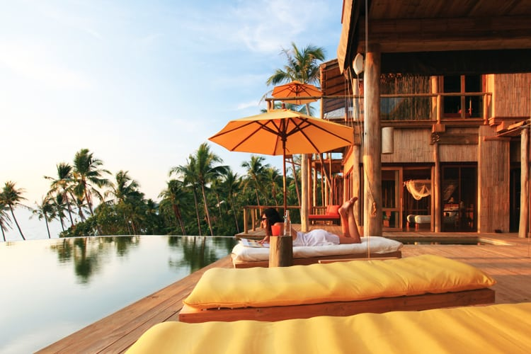 Private pool Soneva Kiri *****