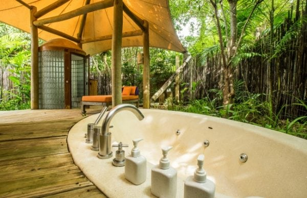 Outdoor bathtub Soneva Kiri *****