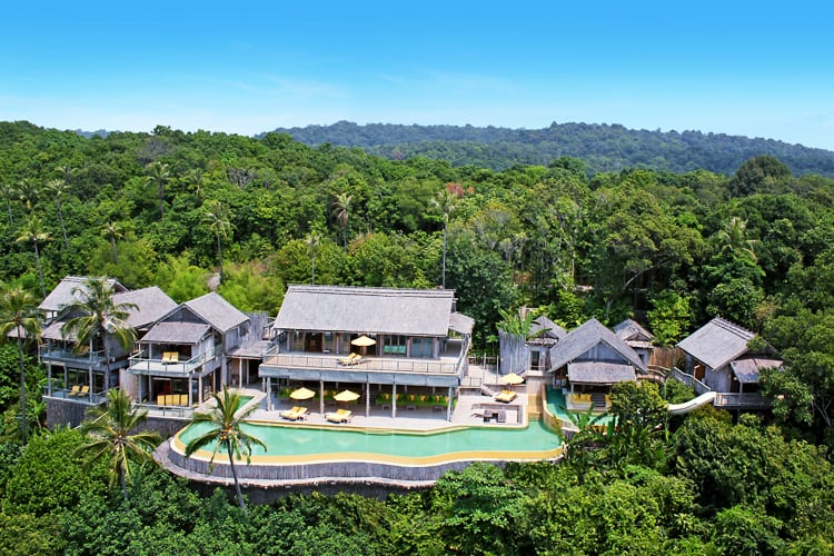 Resort sky view Soneva Kiri *****