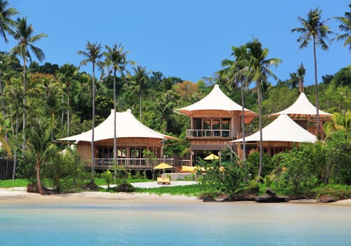 Villas facing the sea Soneva Kiri *****