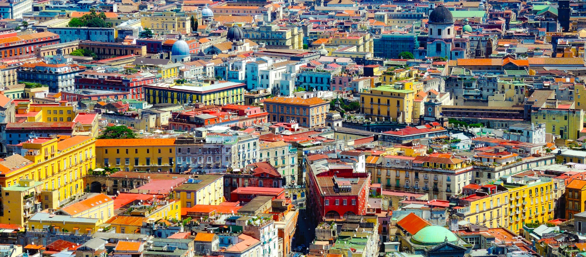 Little Guest Hotels Collection Napoli Aerial View