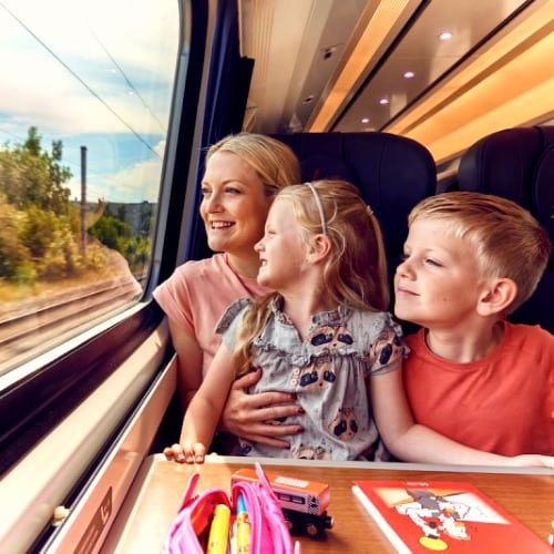 Family Train: Discount And Rates Per Company Kids