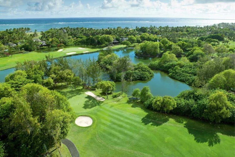 Golf course of Constance Belle Mare Plage