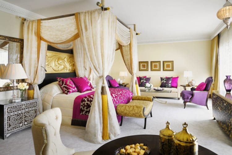 One & Only Royal Mirage Bedroom