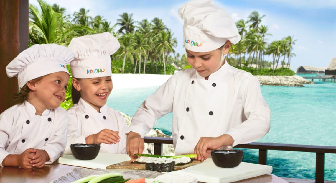 Cooking lessons for kids One & Only Reethi Rah