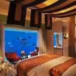 Atlantis The Palm Dubaï suite with aquarium
