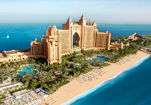 Atlantis The Palm external view