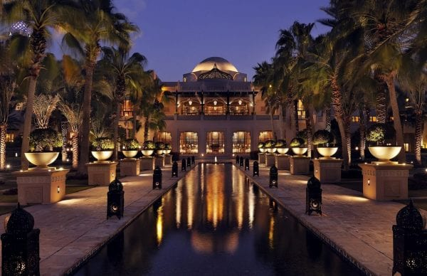 One & Only Royal Mirage Hotel by night