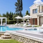 Luxury villa with private pool and garden at Ikos Dassia