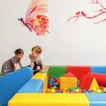 Children play at Ikos Oceania kids club