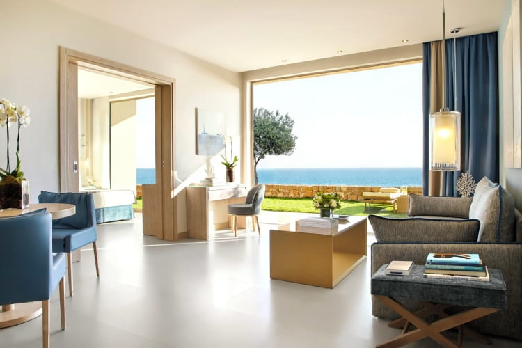 One of the Ikos Oceania's suites