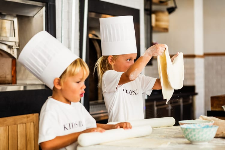 One and Only Saint Geran cooking lessons for kids
