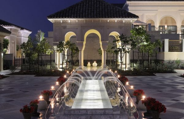 One & Only Reethi Rah Fountains