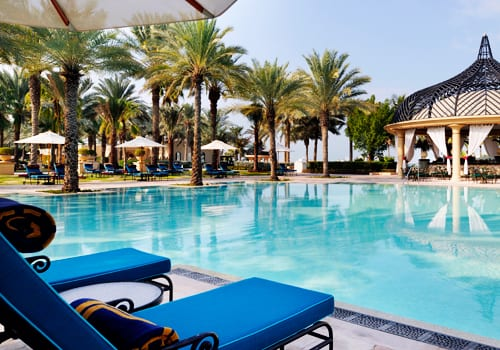 Pool of Royal Mirage in Dubai