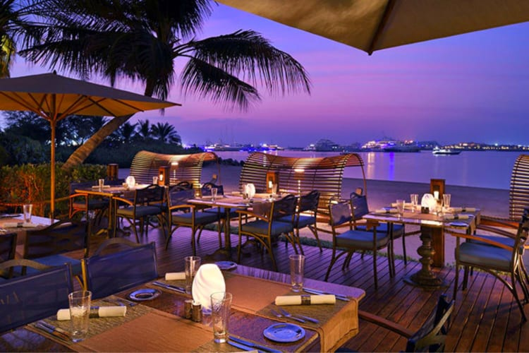 One & Only Royal Mirage Restaurant by night