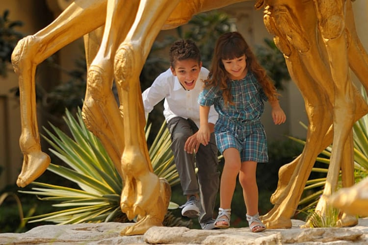 One & Only Royal Mirage Kids playing