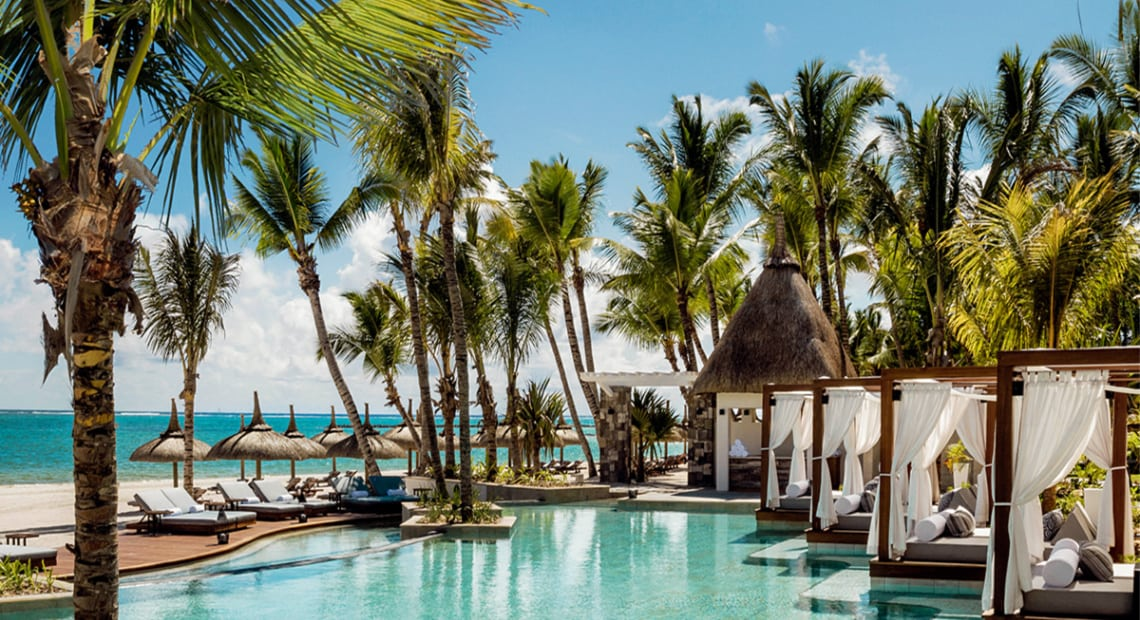 One & Only Le Saint Géran Mauritius swimming pool