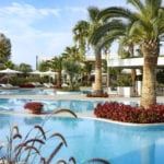 Porto Sani Swimming Pool Palms