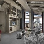 Living room of the suite at Le K2 Altitude