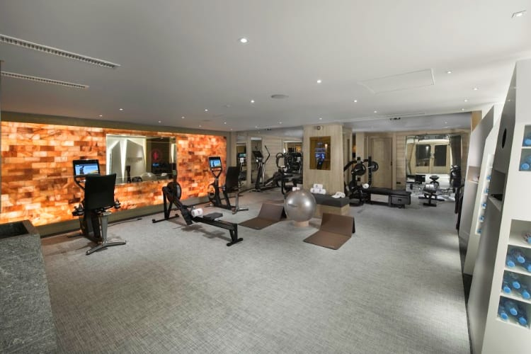 Le K2 Altitude fitness room