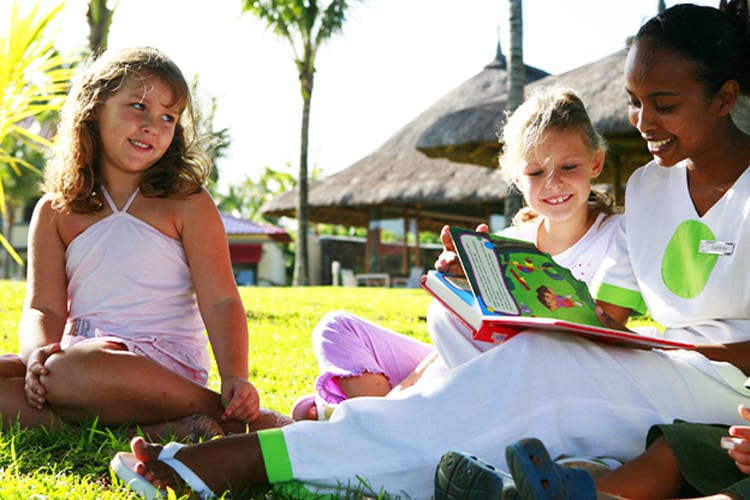 Kids activities at Lux Tamassa in Maurice island