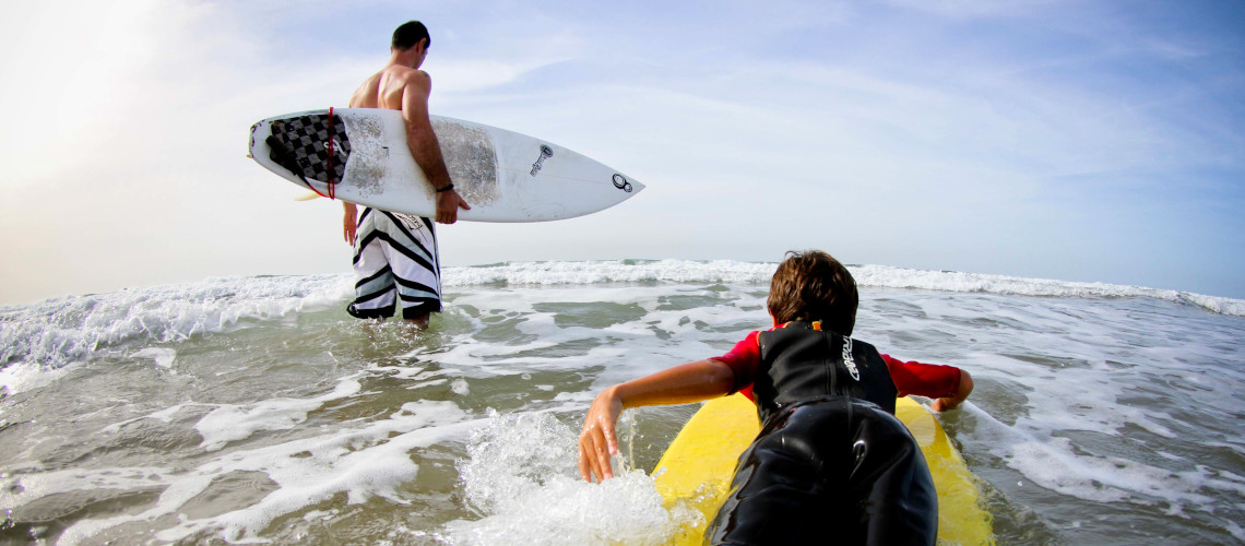 Surf in Paradis Plage