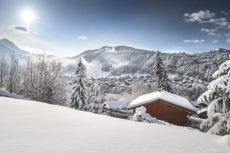 a view on morzine