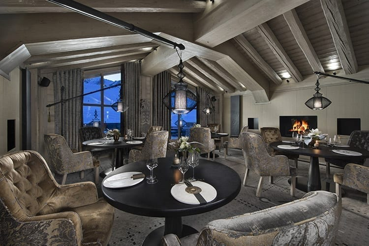 Lounge of the Suite Altitude at Le K2 Altitude