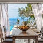 Private dining room with view on the sea Danai Beach Resort & Villas
