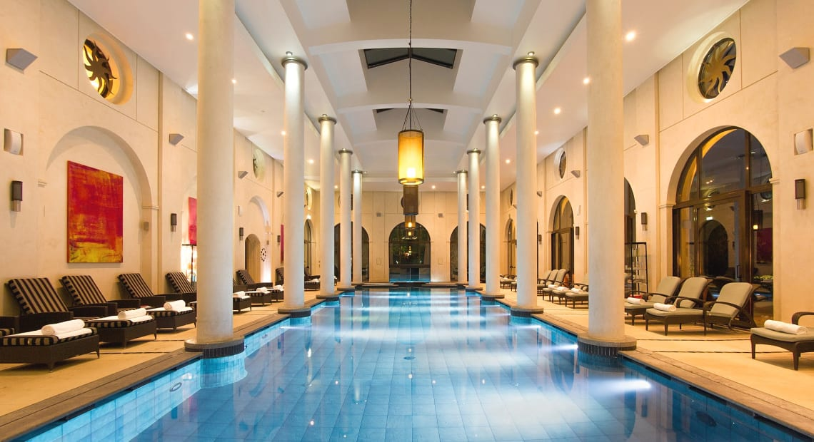 The amazing spa of the Terre Blanche Hotel Spa Golf Resort