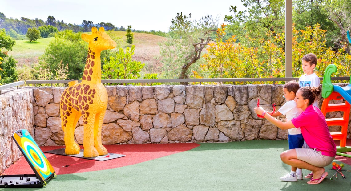Kids club activities in Terre Blanche Hotel Spa Golf Resort