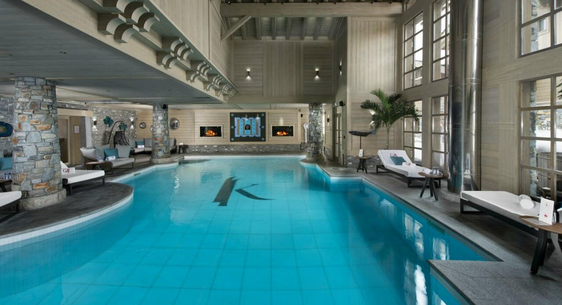 K2 Altitude Courchevel Swimming Pool Spa