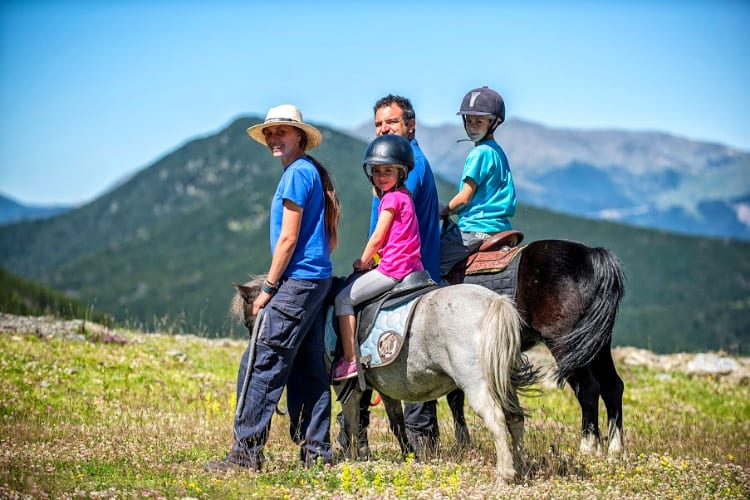 Pony excursion for kids Sport Hotel Hermitage & Spa *****