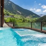 Outdoor pool spa Sport Hotel Hermitage & Spa *****