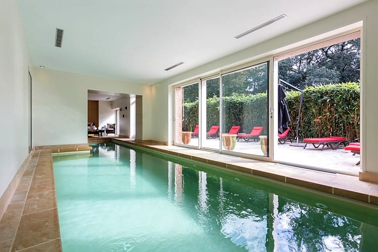 Indoor pool Domaine de La Bretesche Golf & Spa