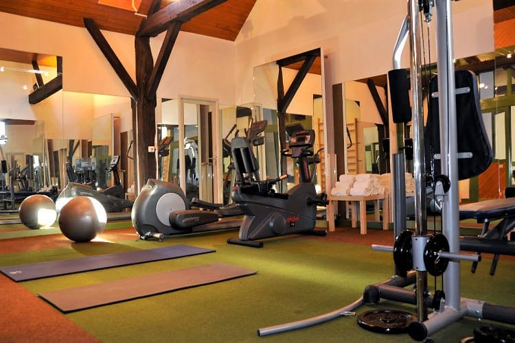 Fitness room Domaine de La Bretesche Golf & Spa