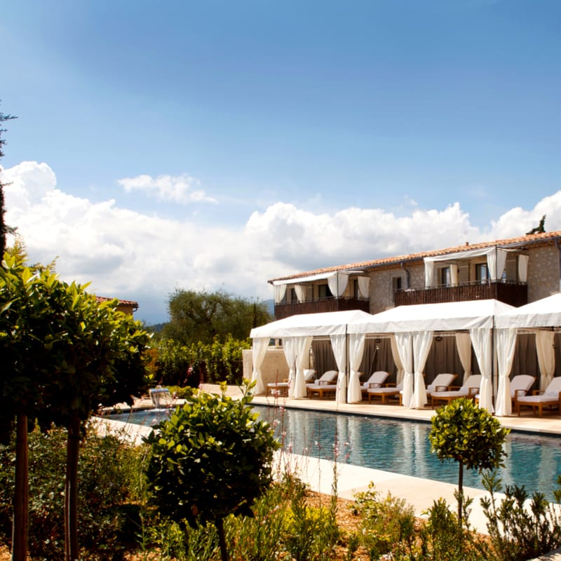 Hotel Terre Blanche in France