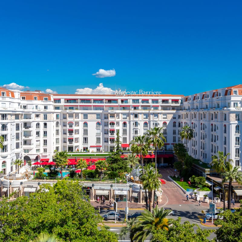 Hotel Barrière Le Majestic Cannes in France