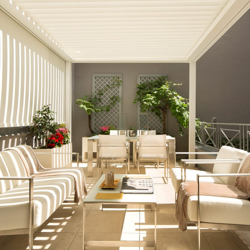 One of the Baume Hotel terraces in Paris