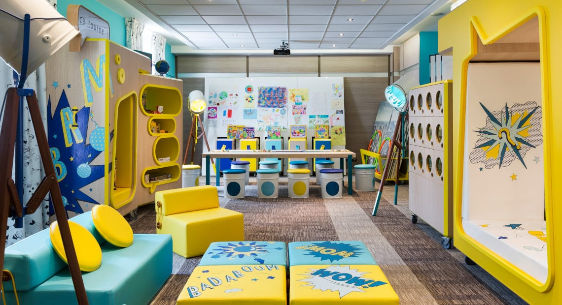 Kids Club Le Studio by Petit VIP at Hotel Barriere Le Gray d'Albion in Cannes